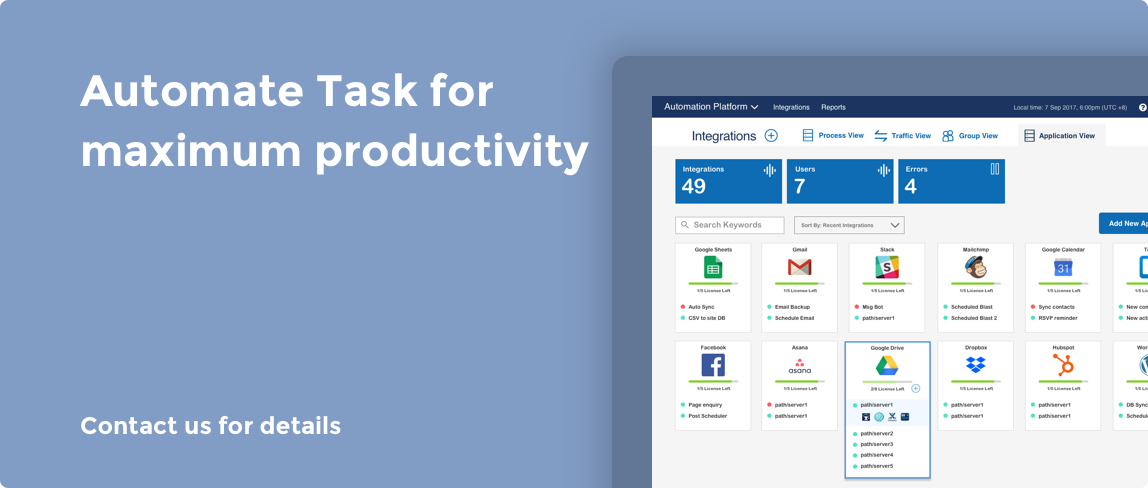 Automate Task for maximum productivity